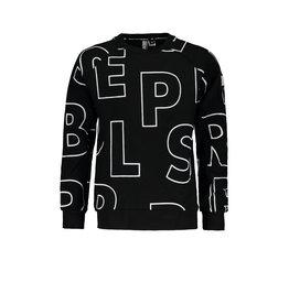 "Super Rebel Super Rebel-Sweater Heavy Interlock-""Tekst Black"""