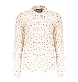 NoBell NoBell Tinka Blouse all over print Hearts Snow White