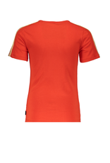 NoBell NoBell Kanoux short sleeve T-shirt Ca Va Fresh Tomato