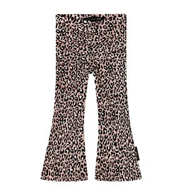 Your Wishes Your Wishes Flared Legging Leopard Pink