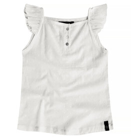 Your Wishes Your Wishes Ruffle Singlet Swiss Dot