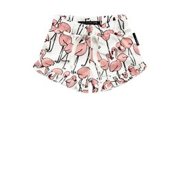 Your Wishes Your Wishes Ruffle Shorts Flamingo