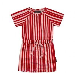 Your Wishes Your Wishes Shirtdress Pink Stripes