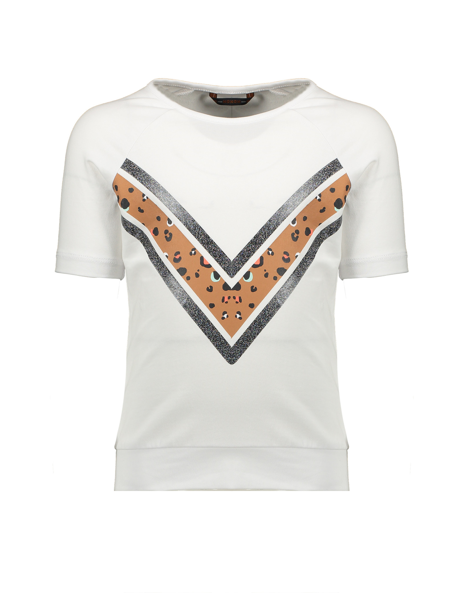 NONO NONO Kamou half sleeve / cut out shirt Snow White