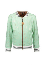 NONO NONO Donnac AOP reversible animal/leopard jacket Hazelnut