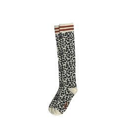 NONO NONO Ranim blk/wht leopard sock Snow White