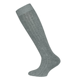 Ewers Ewers Knee Socks Rib - Grey Melange
