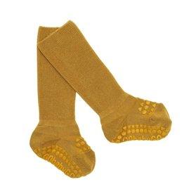 Go baby Go Go Baby Go Bamboo Anti Slip Sokken MUSTARD