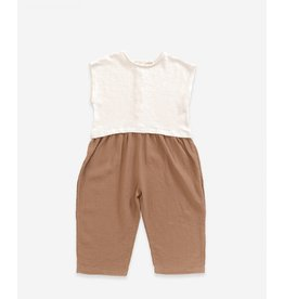 Play Up Play Up Mixed Jumpsuit PEARL