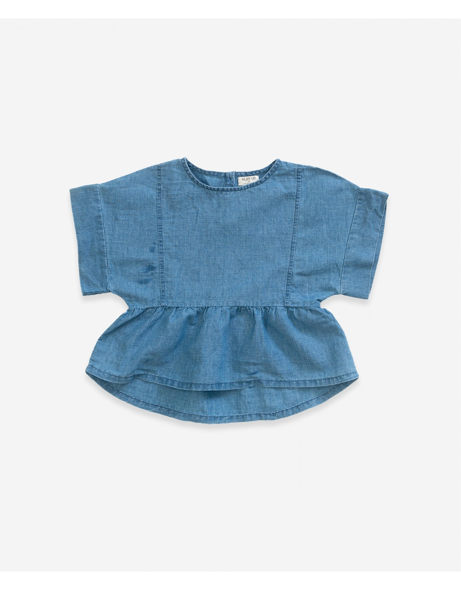 Play Up Play Up Denim Tunic D001