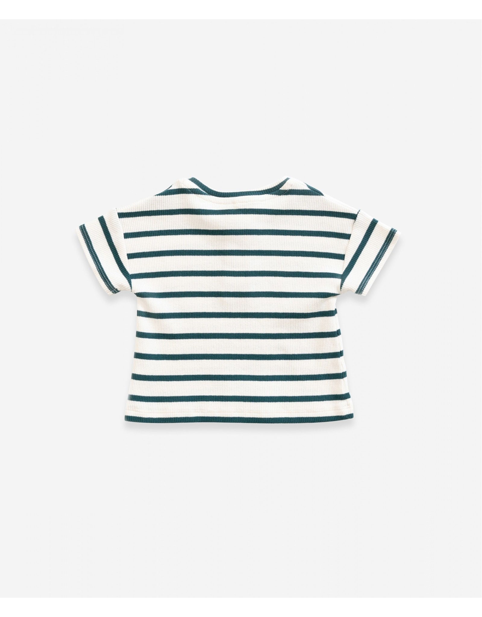 Play Up Play Up Striped Rib T-shirt OLD GLASS
