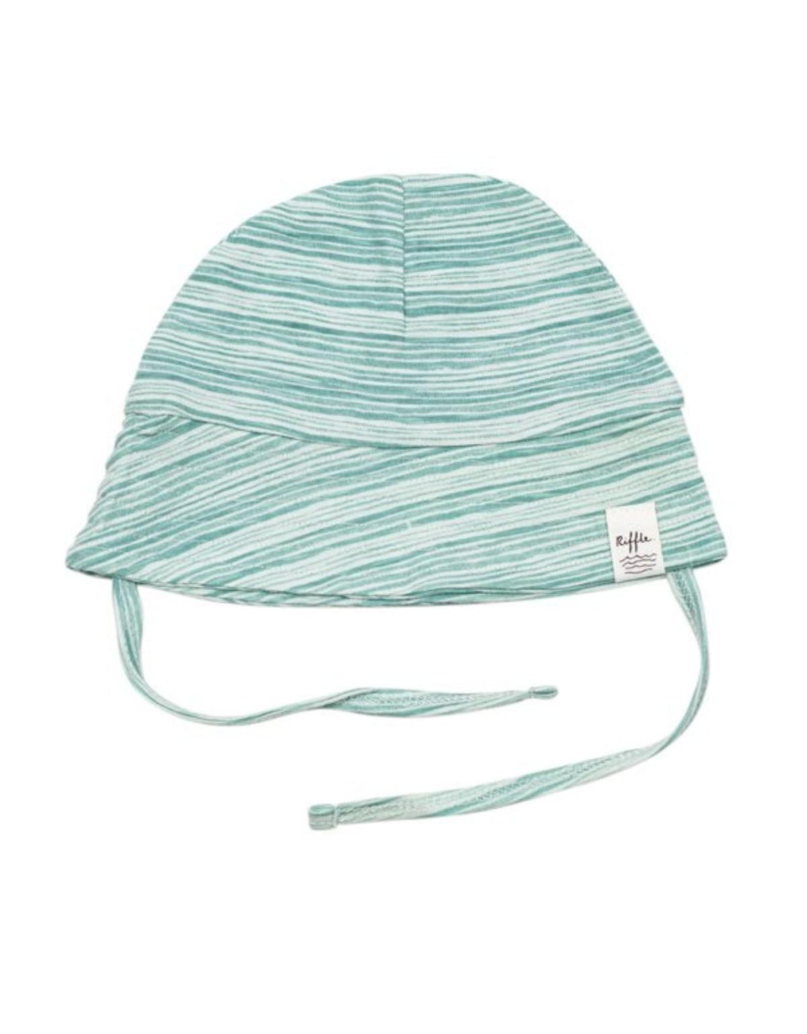 Riffle Amsterdam Riffle Amsterdam Summer Hat Stripe Green