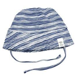 Riffle Amsterdam Riffle Amsterdam Summer Hat Stripe Indigo