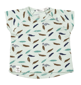 Riffle Amsterdam Riffle Amsterdam T-shirt Feather