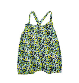 Riffle Amsterdam Riffle Suit with Straps FLOWER GREEN