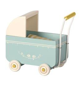 Maileg Maileg Poppenwagen 'MY Pram Blue'