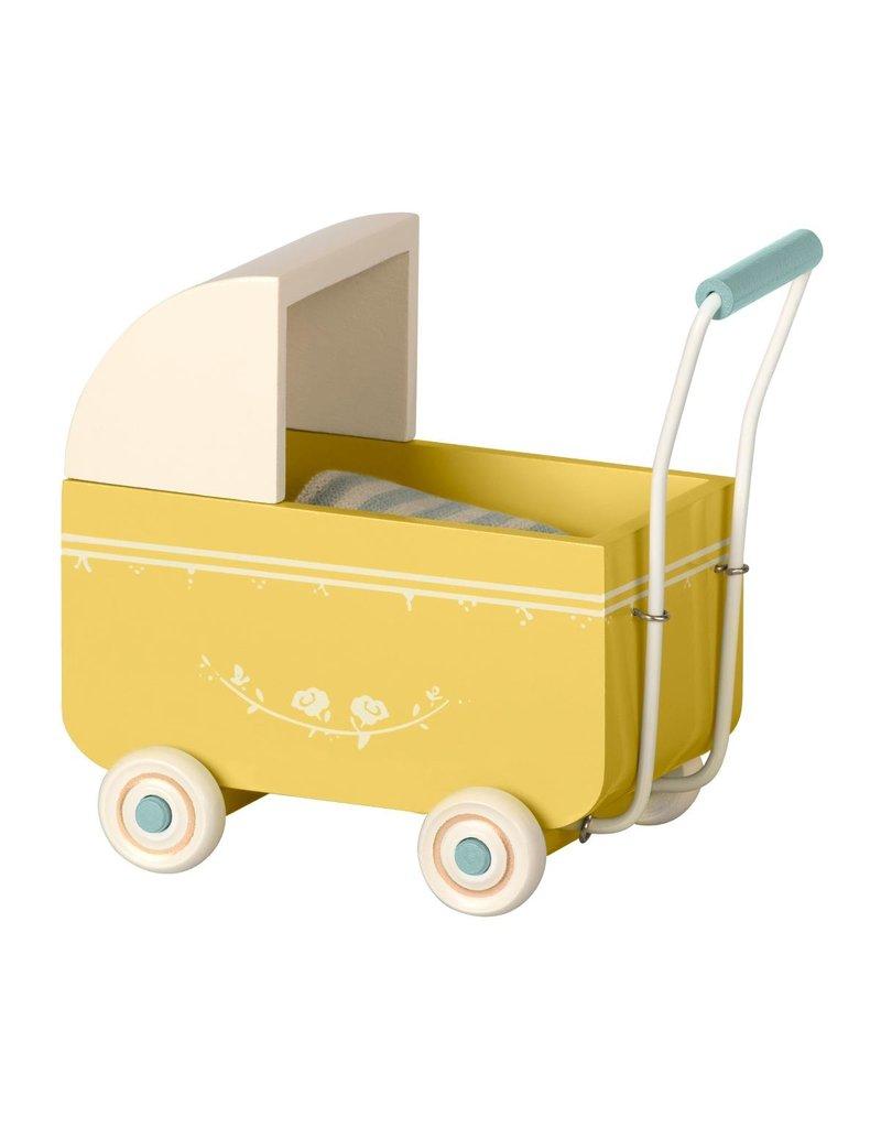 Maileg Maileg Poppenwagen 'MY Pram Yellow'