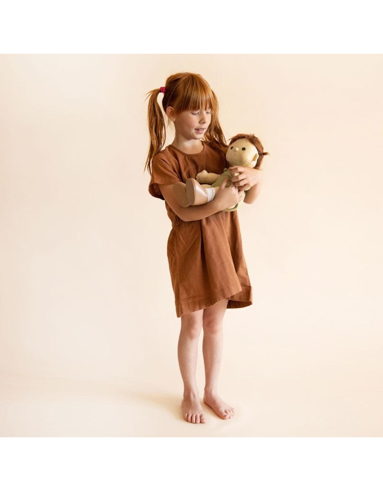 Olli Ella Olli Ella Dinkum Doll Pumpkin