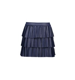 B.Nosy B.Nosy Girls Coated Plissé Skirt with layers SPACE BLUE