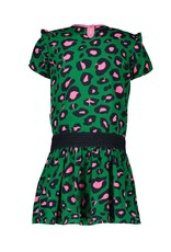 B.Nosy B.Nosy Girls Dress with Leo all over print JADE LEOPARD