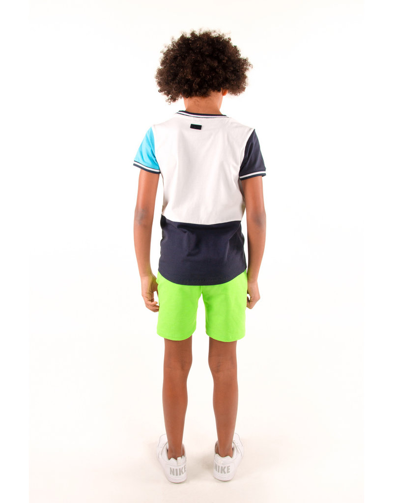 B.Nosy B.Nosy Boys Shirt different color sleeves OXFORD BLUE