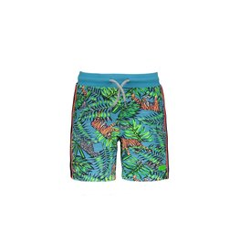B.Nosy B.Nosy Boys Shorts with jungle all over print TIGER JUNGLE
