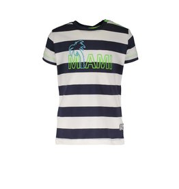 B.Nosy B.Nosy Baby Boys Shirt with special YDS BIG STRIPE BLUE
