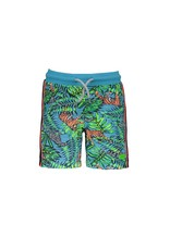 B.Nosy B.Nosy Baby Boys Short with Jungle all over print TIGER JUNGLE