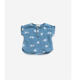Play Up Play Up Printed Woven Shirt Denim