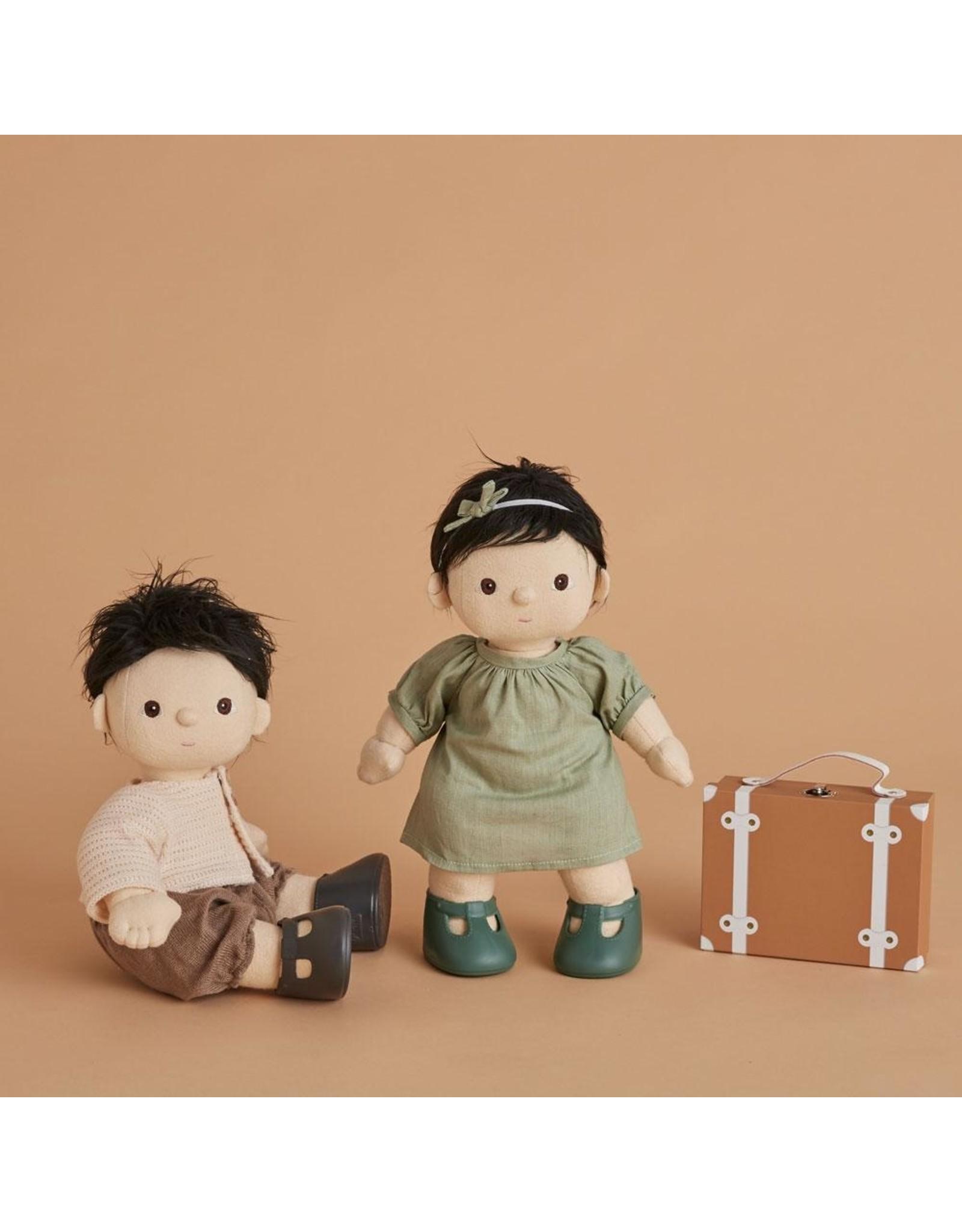 Olli Ella Olli Ella Dinkum Doll Travel Togs Rust