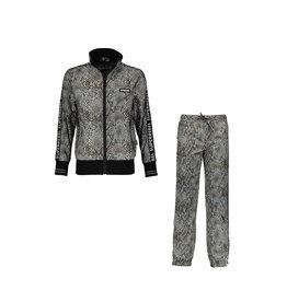 Super Rebel Super Rebel Unisex Trainin Jacket and Trousers all over NATURAL SNAKE