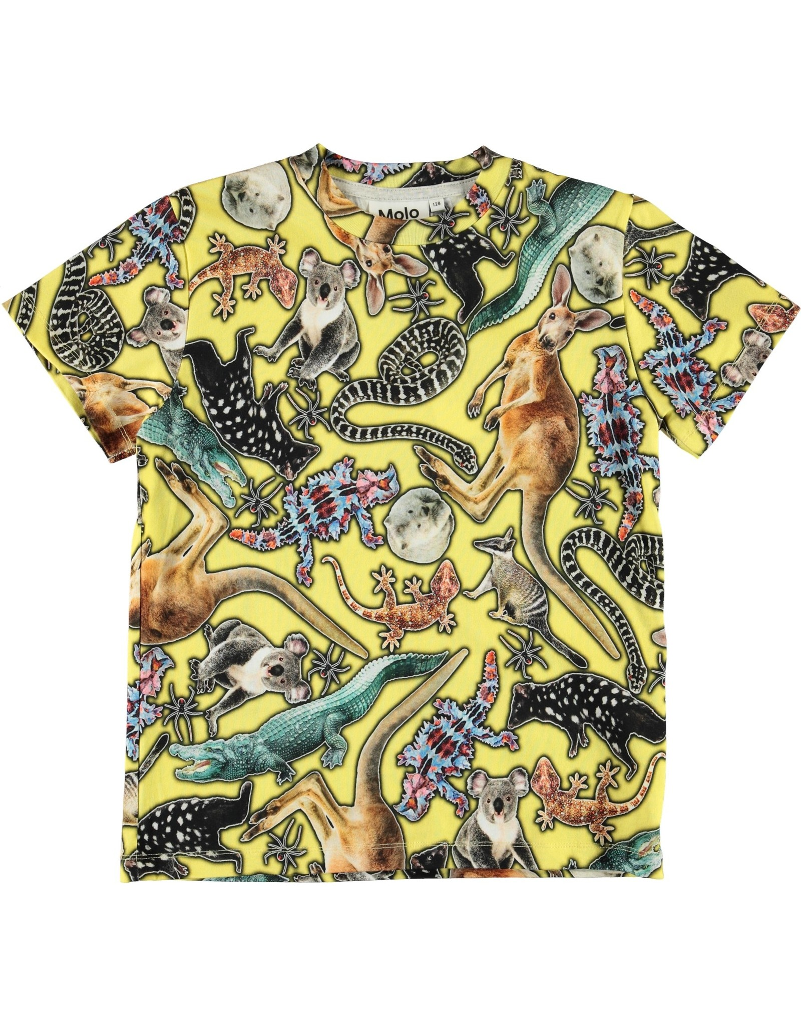 Molo Molo Roxo Yellow Animals