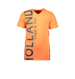 "TYGO & Vito Tygo&Vito-T Shirt Holland Neon-""Shocking Orange"""