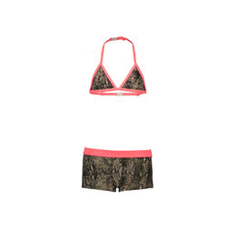 Just BEACH Just BEACH Girls Triangle Bikini Snake Beige