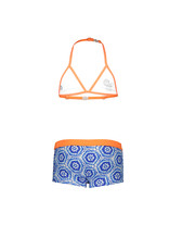 Just BEACH Just BEACH Girls Triangle Bikini Batik Blue