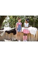 B.Nosy B.Nosy Girls Denim salopette with shorts MIDDLE DENIM