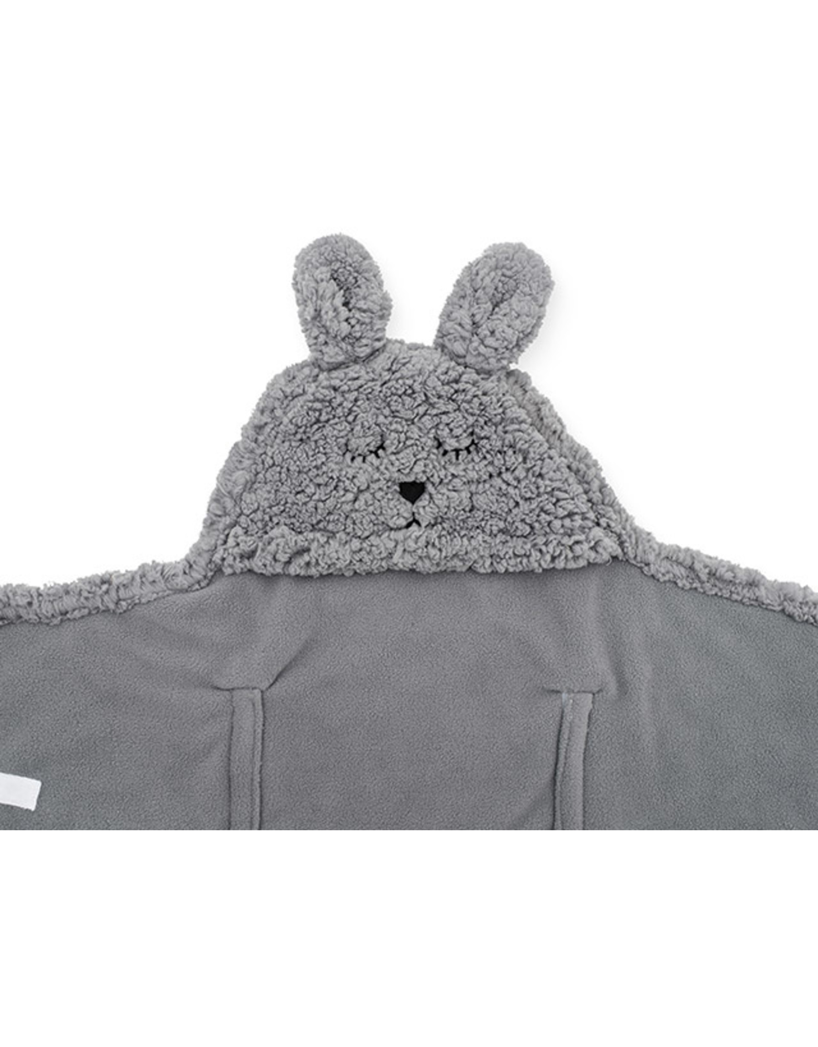 Jollein Jollein Wikkeldeken Bunny Storm Grey