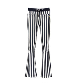 NoBell NoBell Sahara striped flared pants NAVY BLAZER