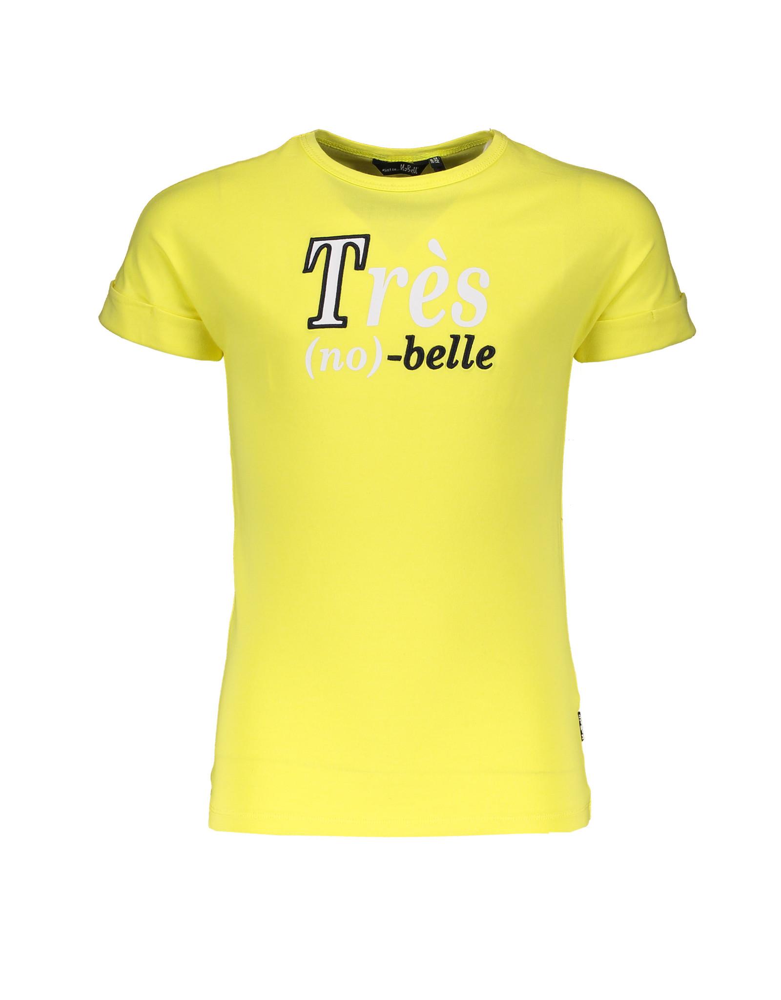 NoBell NoBell Kaël ss T-shirt with Tres Nobelle LIGHT LEMON