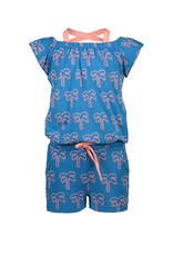 Moodstreet Moodstreet Playsuit all over print Palmtree BLUE