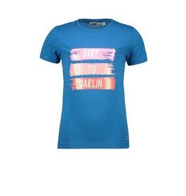 Moodstreet Moodstreet T-shirt Chestprint BLUE
