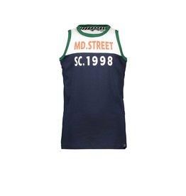 Moodstreet Moodstreet T-shirt Sleeveless NAVY