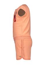 Like Flo Like Flo Girl crepe coral Jumpsuit CORAL