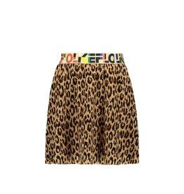 Like Flo Like Flo Girls Fancy Plisse Skirt ANIMAL