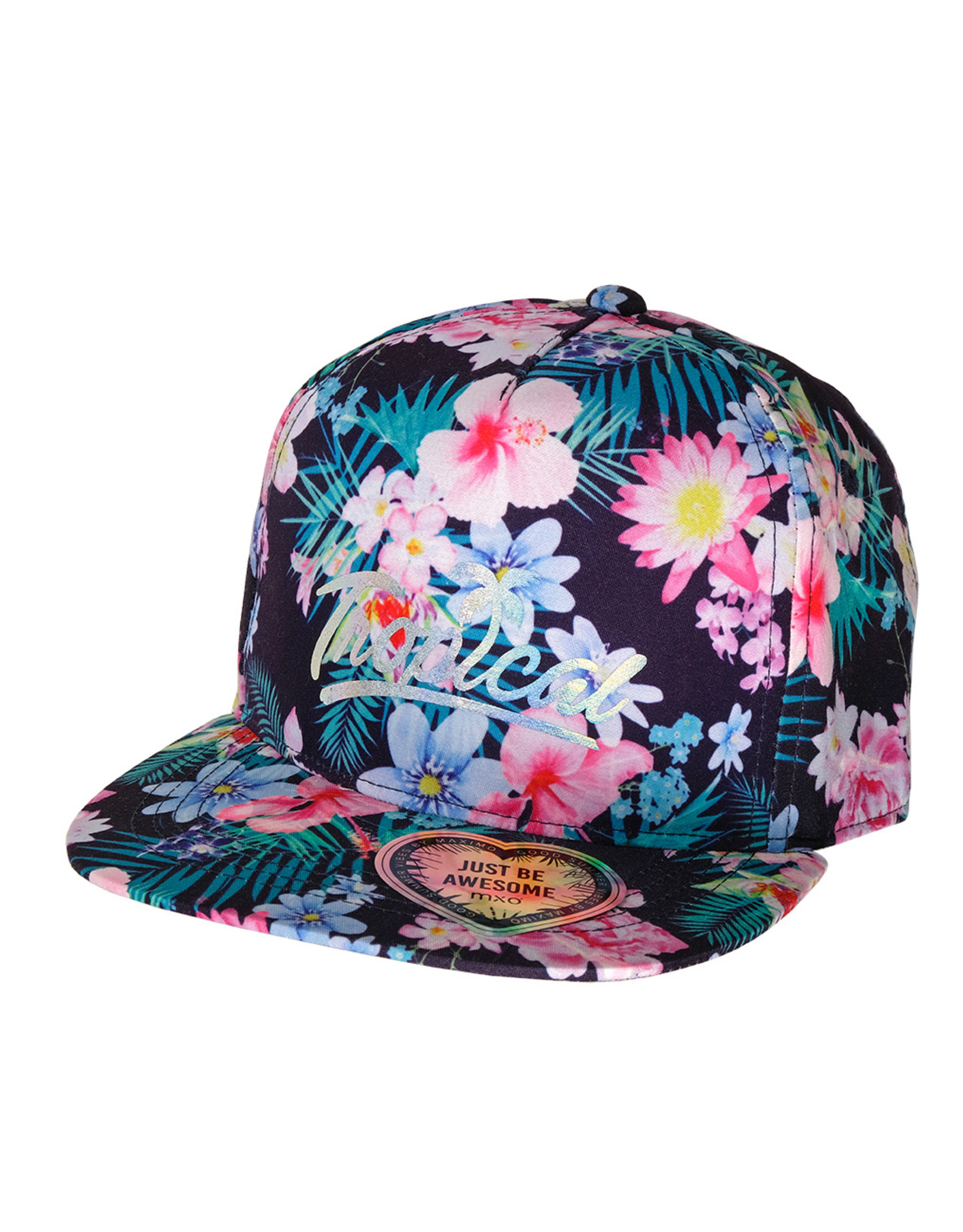 Maximo Maximo KIDS GIRL Cap tropical bloemenprint