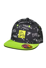 Maximo Maximo KIDS BOY Cap urban riders zwart/ groen