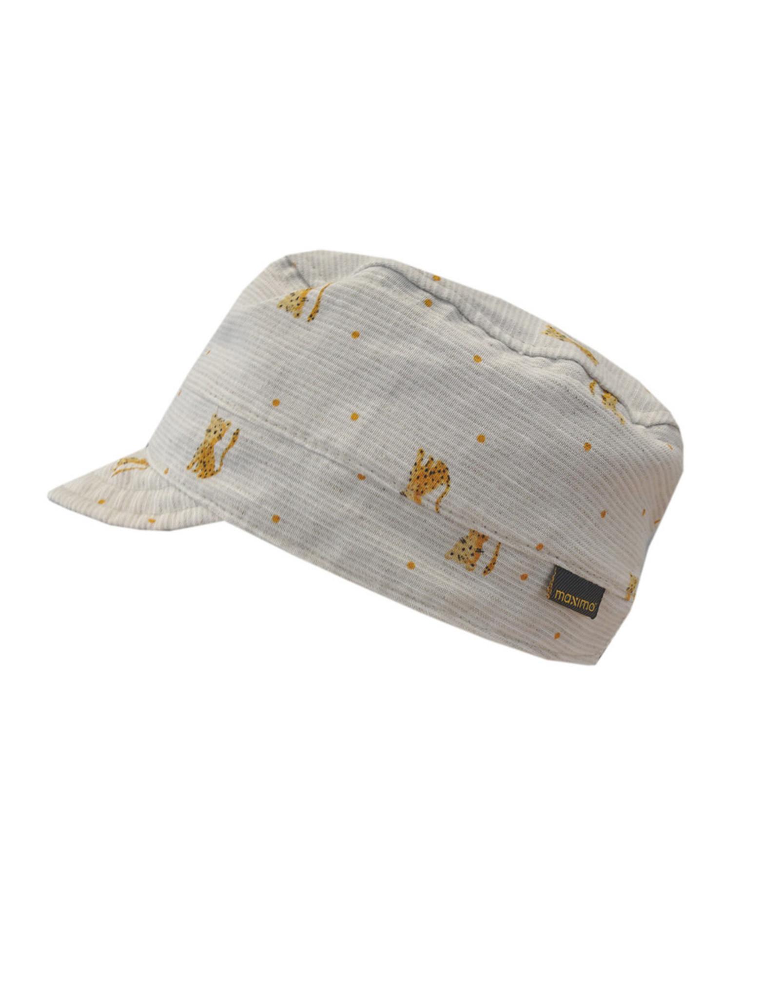 Maximo Maximo MINI Boy Cap cheetah beige
