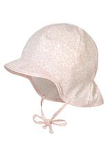 Maximo Maximo BABY GIRL Cap met afschermkap antiek roze/wit