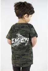 KMDB KMDB Baby Tee Kek Camo Graffiti White
