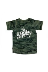 KMDB KMDB Kids Tee Kek Camo Graffiti White